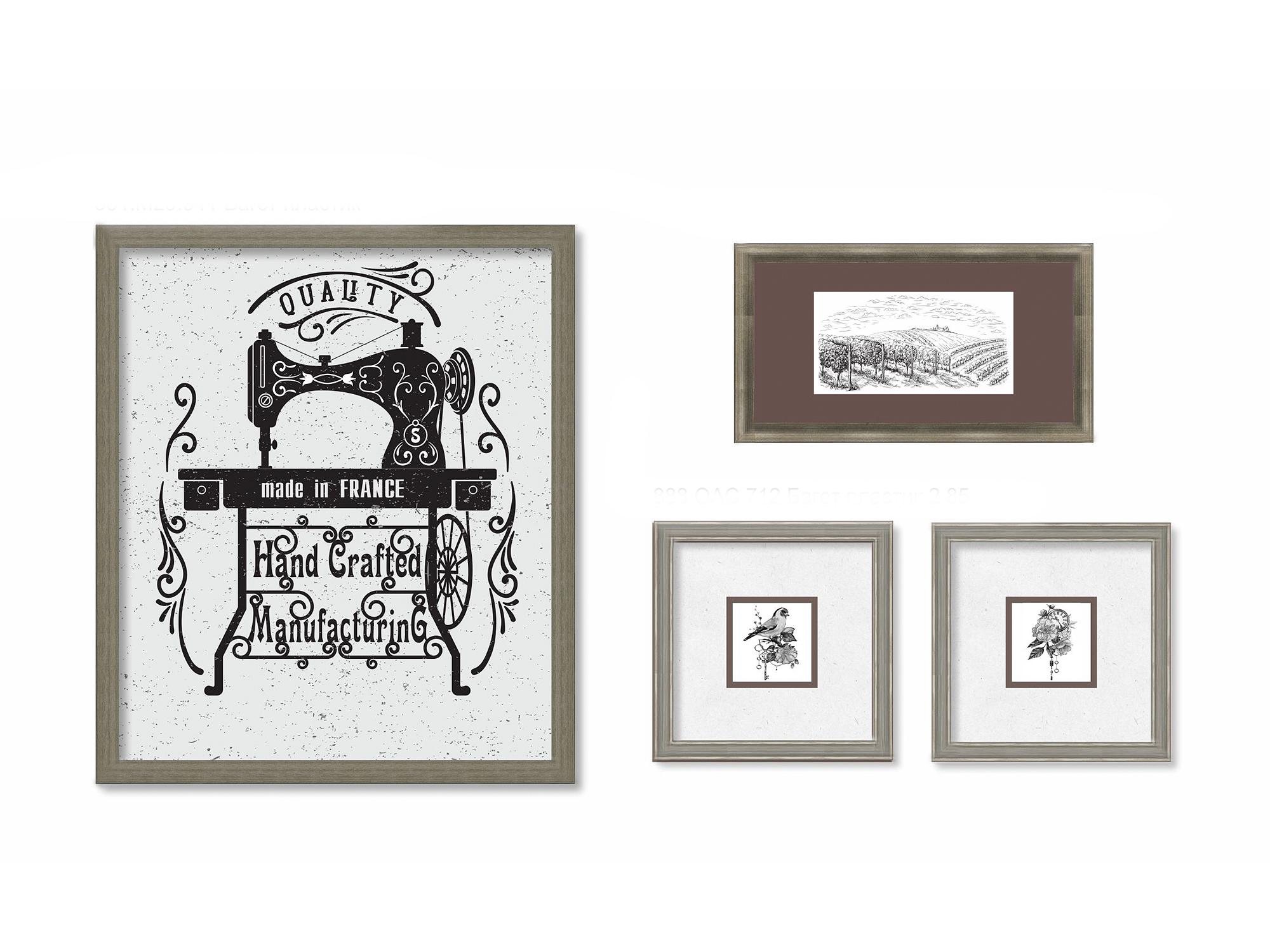 Набор постеров Мануфактура из 4 шт. Ангстрем фото