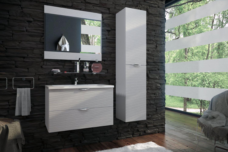 Мебель для ванной комнаты Волна 3 Ангстрем фото