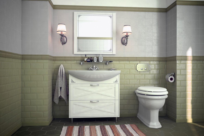Мебель для ванной комнаты Прованс 2 Ангстрем фото
