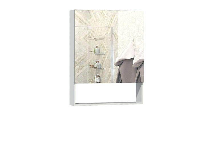 Шкаф навесной с зеркалом Фьюжен 600.11 Ангстрем
