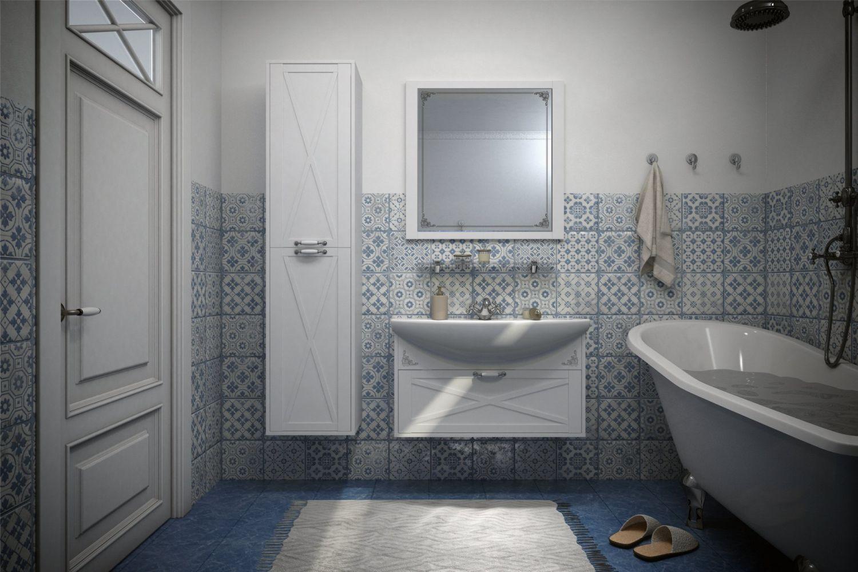 Мебель для ванной комнаты Прованс 3 Ангстрем фото