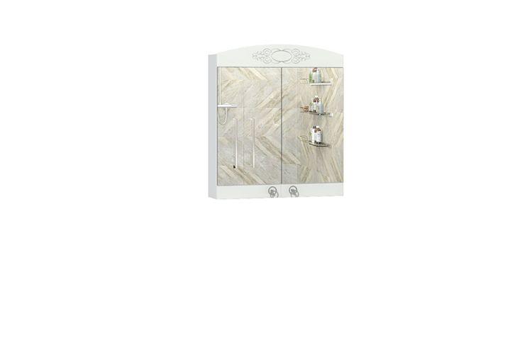 Шкаф навесной с зеркалом Авелин 600.11 Ангстрем
