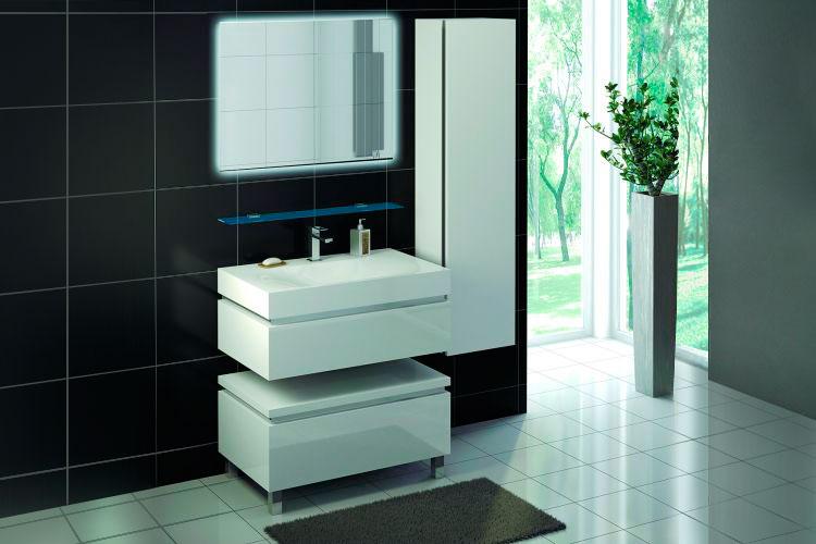 Мебель для ванной комнаты Аксиома 3 Ангстрем фото
