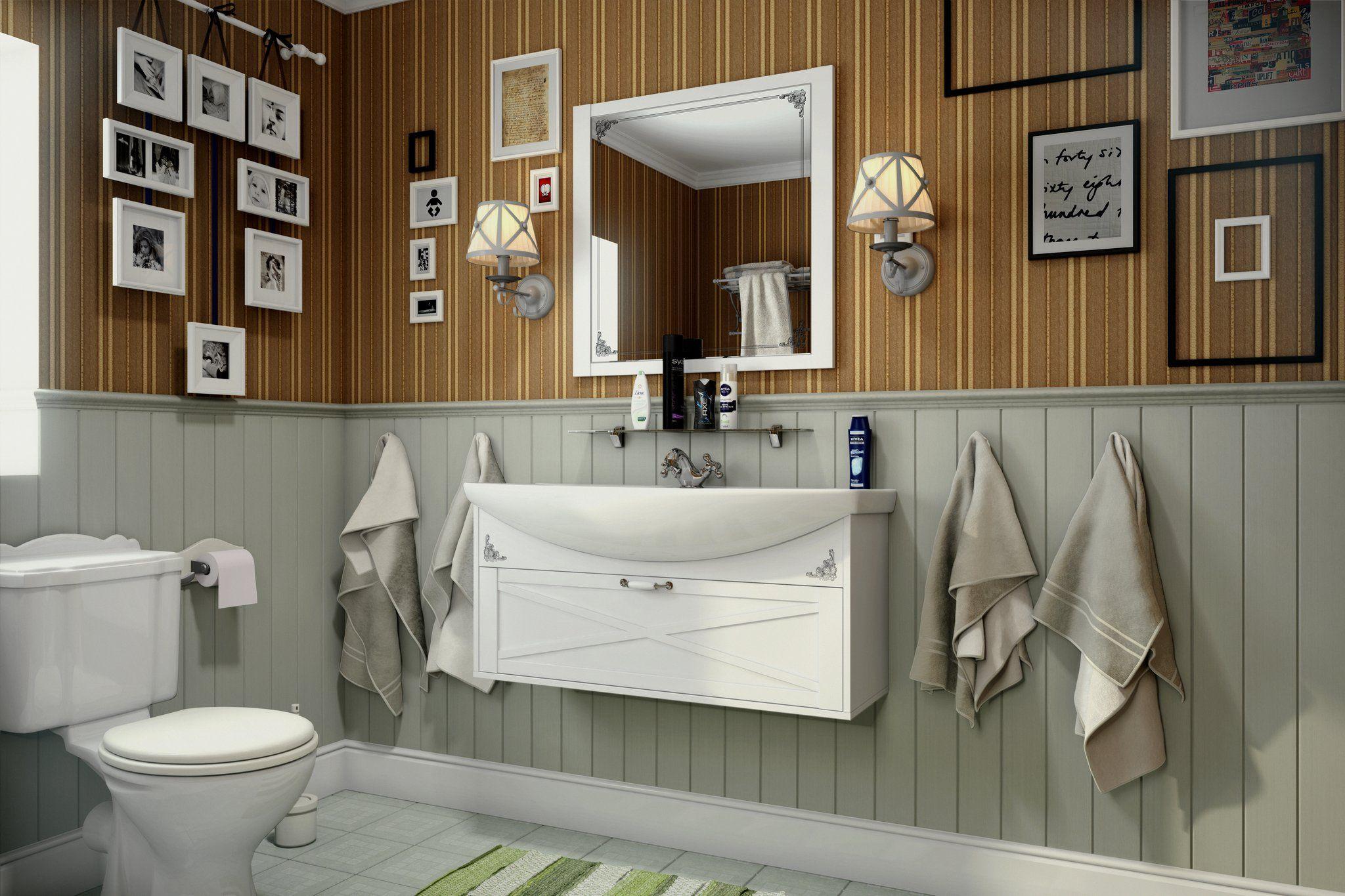 Мебель для ванной комнаты Прованс 4 Ангстрем фото