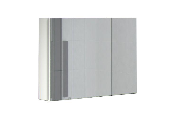 Шкаф навесной с зеркалом Аксиома 800.11 Ангстрем фото