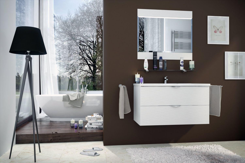 Мебель для ванной комнаты Волна 4 Ангстрем фото