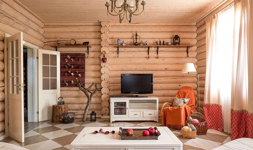 Деревенский стиль в интерьере